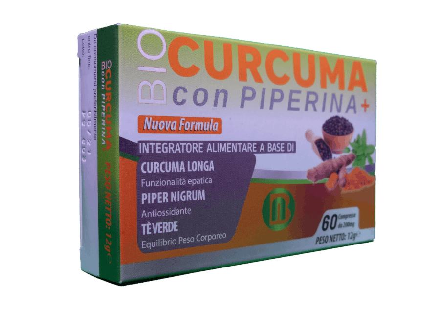 cos'è bio piperina e curcuma plus
