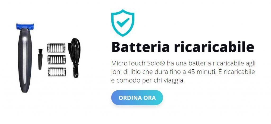 microtouch solo prezzo